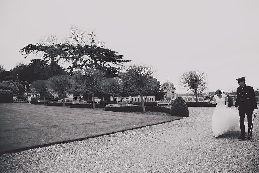 A walk around Harlaxton gardens