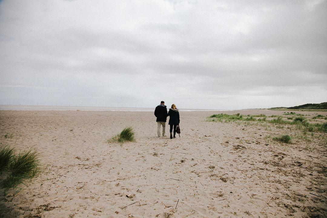 A Coastal Shoot with Amy + Mark