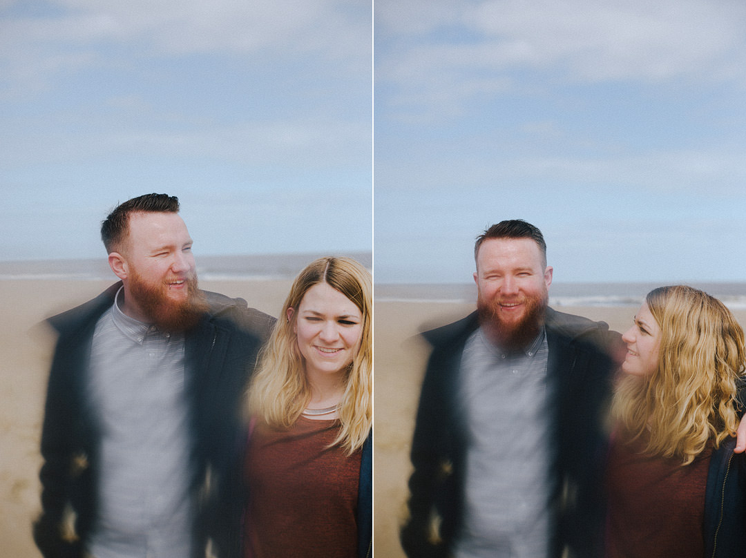 A Coastal Shoot with Amy + Mark