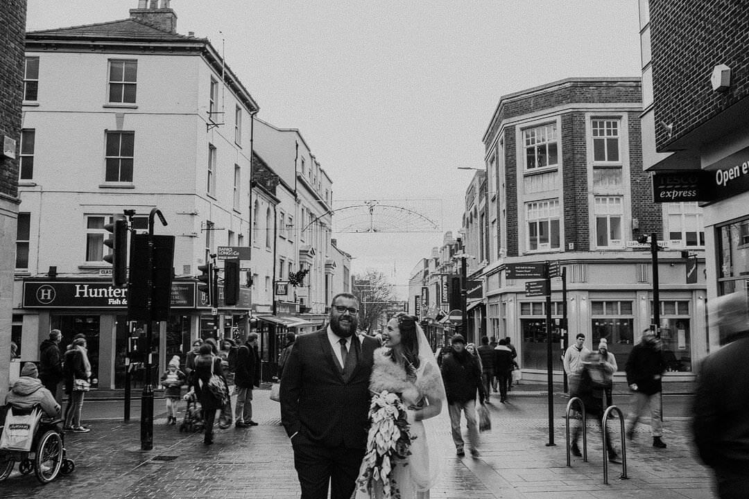 Emily & Ben – A historic Stonebow Wedding