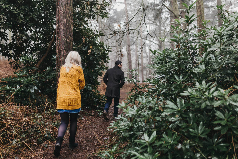 Kev Elkins Photography – Kate + James a Woodland Adventure