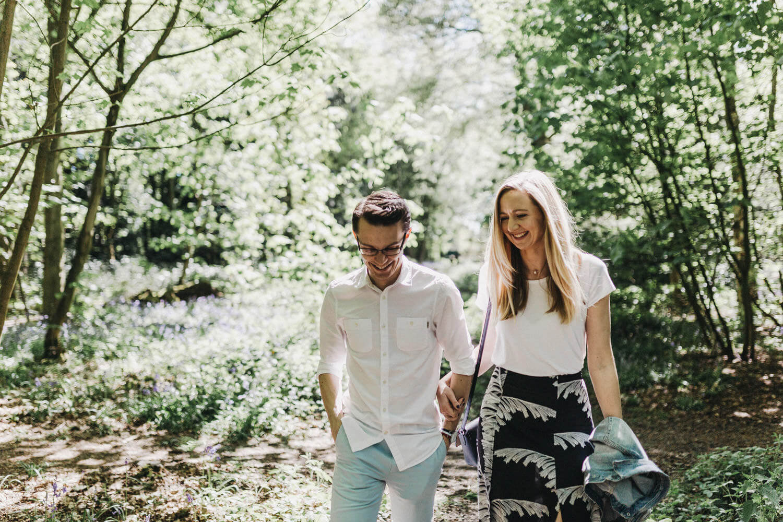 Kev Elkins Wedding Photography – Rufford Abbey Engagement Sessio